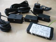 Ekonomická verze monitoru pro tři pracovníky s prodlužovacími boxy AIJGO- 12.4H